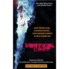 Vertical Limit: A Novelizationバーティカル・リミット